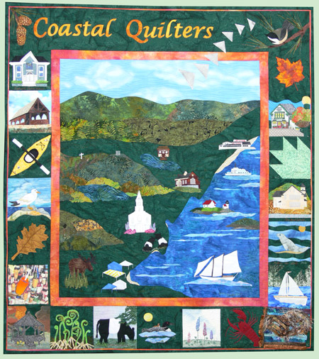 Coastal Quilters Chapter Banner